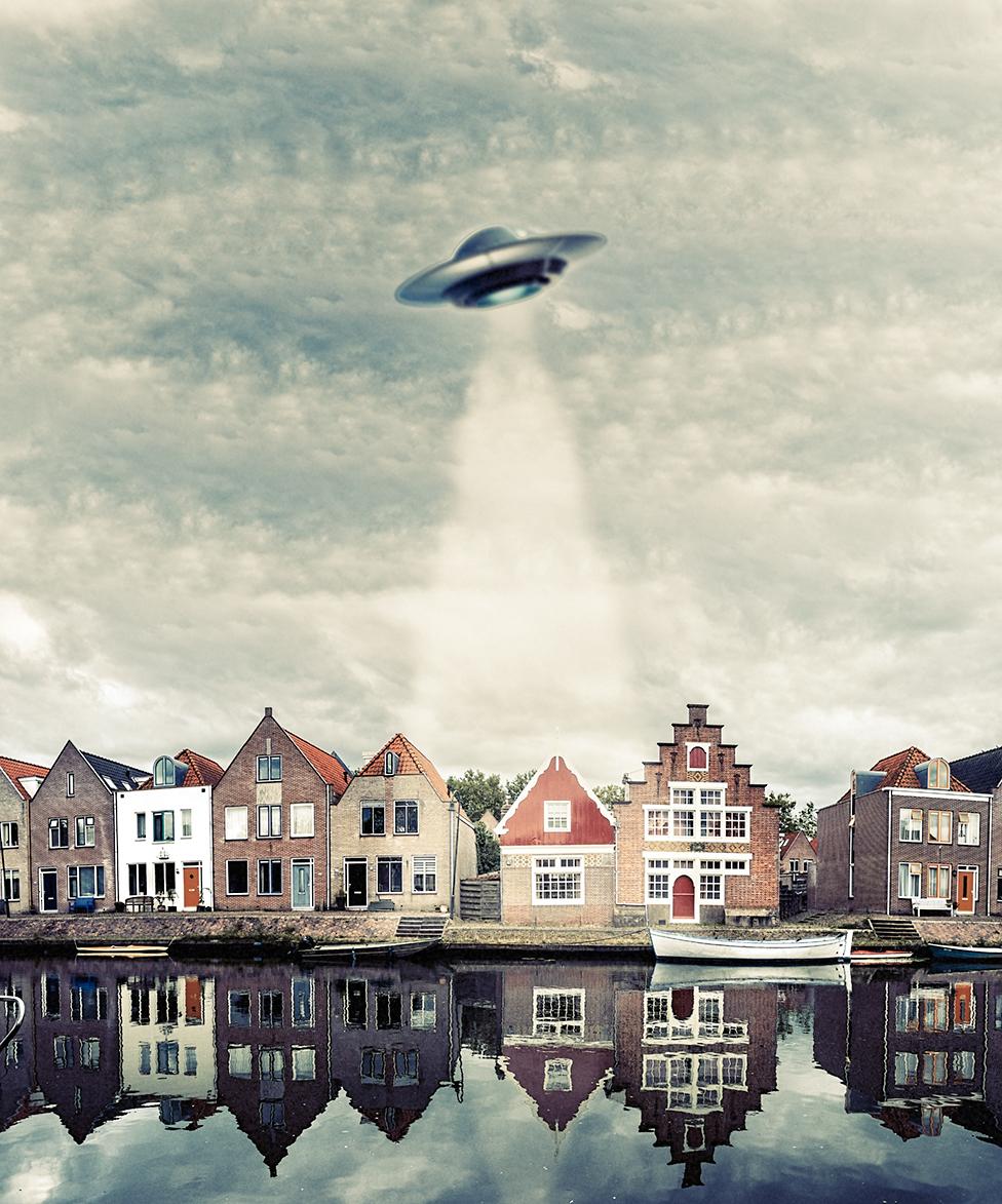 los OVNIS en Holanda